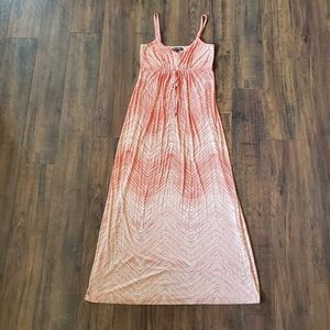 Tommy Bahama Pink/ Ivory Gradient Fade Maxi Dress